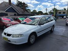 2001 Holden Commodore Wagon 3YR WARRANTY! BACKPACKERS! 4MTH REGO! Ashfield Ashfield Area Preview