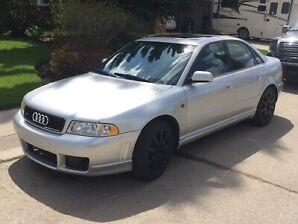 2001 Audi S4 twin turbo awd low km