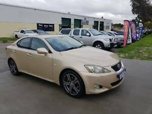 2007 Lexus IS250 Sports Luxury Gold 6 Speed Automatic Sequential Sedan Maddington Gosnells Area Preview