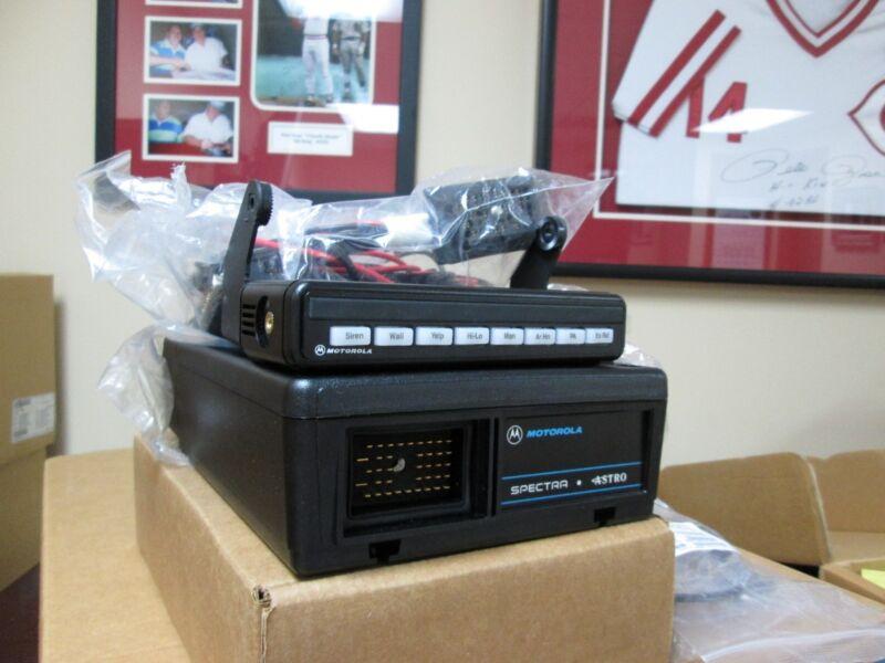 New Motorola Spectra Astro Radio Siren Kit