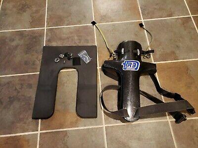 R3 carbon fiber Head and neck restraint