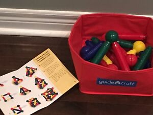 Guide Craft Better Builders 30 - Piece Magnetic Set
