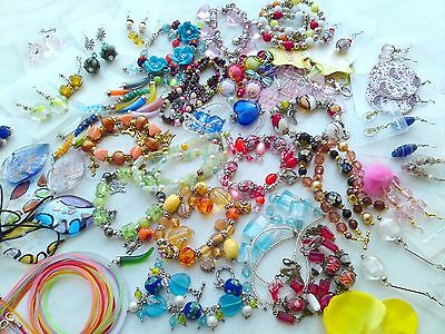 50 teiliges Schmuck-Set Armband Ohrringe Halskette 50 Teile Schmuckpaket Neu ()