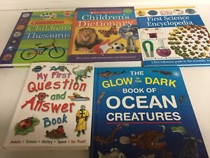 Collection of Children's Learning Books