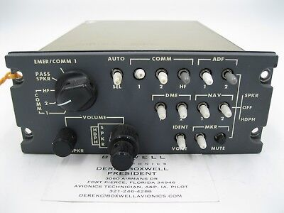 AvTech Audio Selector Panel 5635-1