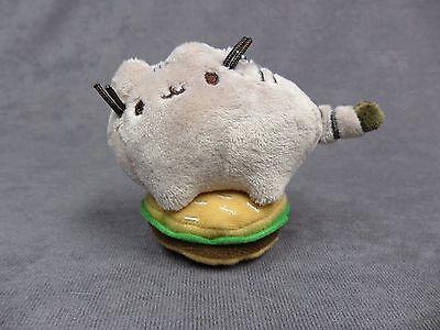 Gund New * Pusheen Blind Box - Hamburger *  Blind Box Mini Plush Cat Key Chain