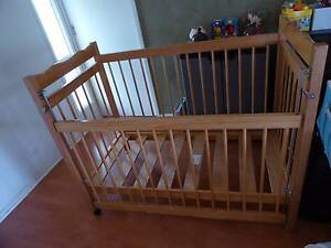 Solid Wood Babyco Cot Belconnen Belconnen Area Preview