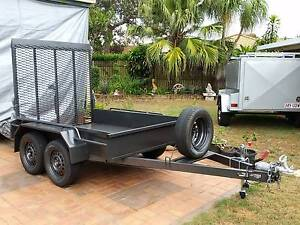 NEW EXTREME H/DUTY 2TON  8X5 PLANT MACHINERY TRAILER >AUSSI BUILT Brisbane Region Preview