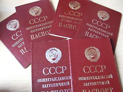 Reisepass Pass Passport Ausweis UdSSR Sowjetunion Russland Ukraine USSR