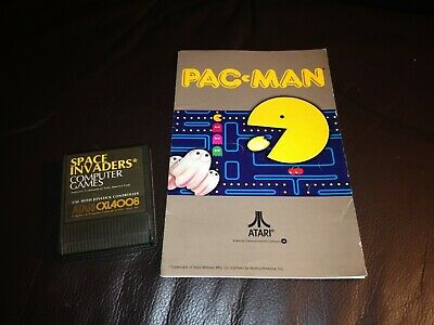 A rare PAC-MAN PACMAN cartridge game 8-bit for ATARI 800 home computer