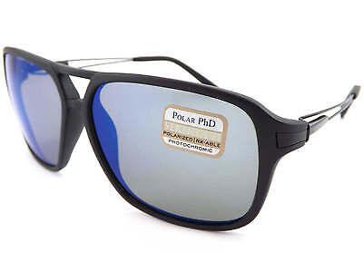 70cf2389990e SERENGETI polarized photochromic VENEZIA Sunglasses Satin Black/ 555nm Blue  8193