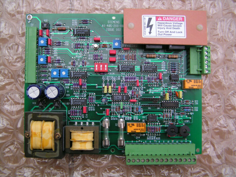 Siemens A1-106-100-505 Circuit Board PCB, Regulated Field, Supply, SIMO NEW!!!