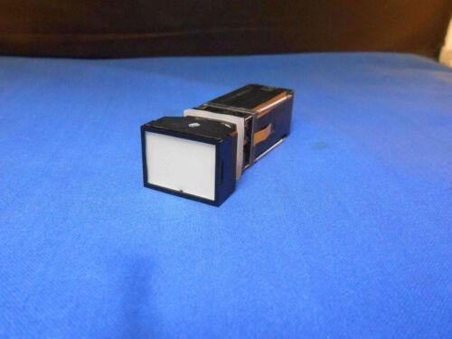 8208A1C14E4M1N1 MASTER SPEC. PUSH LIGHT SWITCH 28.0 DC WHITE ACTUATOR  NOS