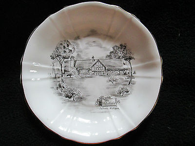 Vintage Win Schuler's Jackson, Michigan 4 3/8 Inch Plate