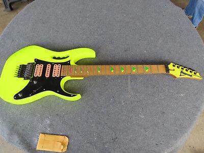 Vintage 1988 Ibanez JEM 777 DY Desert Yellow Steve Vai Project Guitar Japan MIJ, used for sale  Ramseur