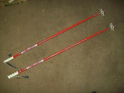 VINTAGE BARRECRAFTER SKI POLES 70s 50 INCHES SKIIS SKIS SKIING 50 Inch Ski Poles