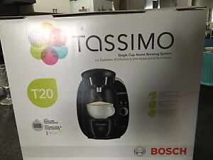 Tassimo T20 used less than 6 months
