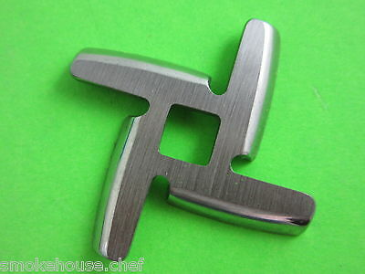 NEW DESIGN Meat Grinder Knife Blade for Kitchenaid Mixer Stainless Steel FGA