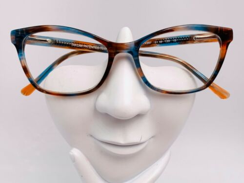Vintage Takumi TK997 Blue Brown Oval Cat Eye Sunglasses FRAMES ONLY