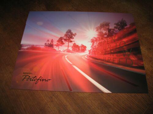 Ferrari Portofino portfolio brochure large photo prints FREE usa shipping.