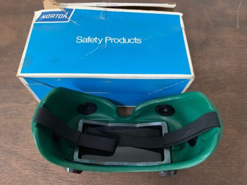Vintage Norton Safety Welding Goggles Steampunk, 5070 Shade MH5, NOS