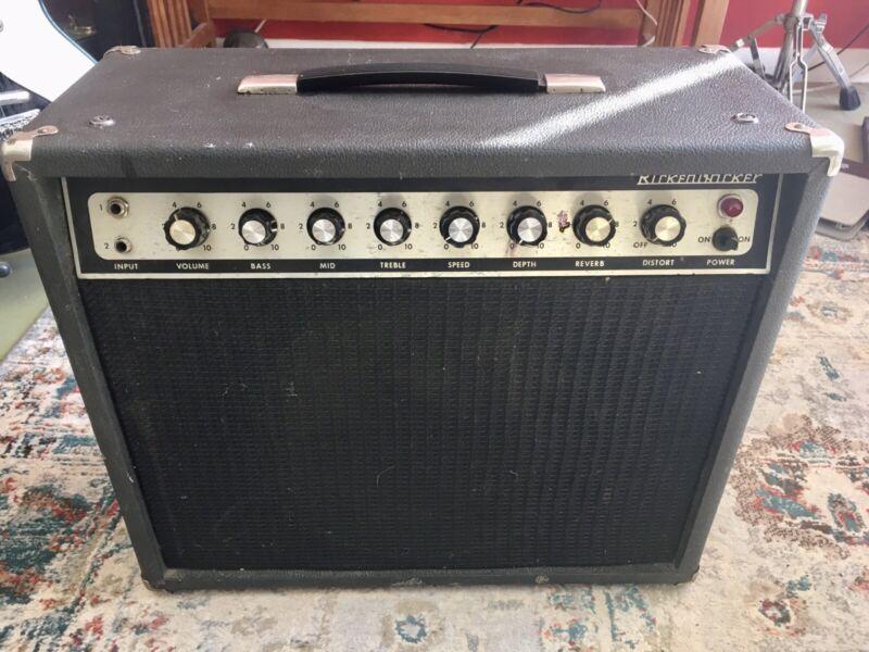 Vintage Rickenbacker TR-25 Guitar Amp Reverb  Vibrato Distortion Cool