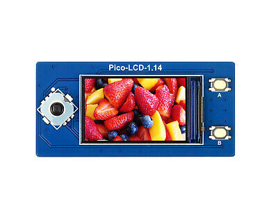 Waveshare 1.14inch Lcd Display For Raspberry Pi Pico 65k Rgb Colors 240135 Spi