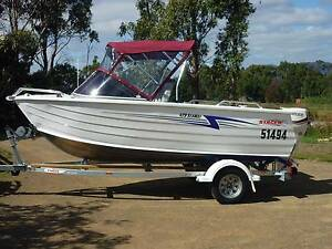 BOAT & TRAILER FOR SALE   STACER 4.29 SEAWAY SPORTS Leslie Vale Kingborough Area Preview