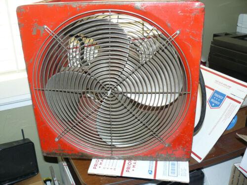 "Supervac Smoke Ejector Fan 16""  VENTILATING SYSTEM P164SE  Super Vac"
