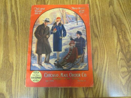 1926 Chicago Mail Order Catalog Fashion Tots Radio and more