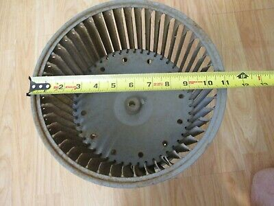 11 Dia. X 10 12 W Replacement Squirrel Cage Blower Wheel Carrier Others 1
