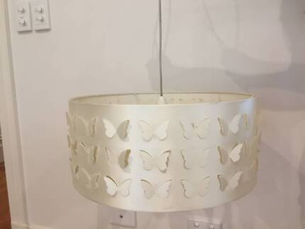 Butterfly cut out lightshade