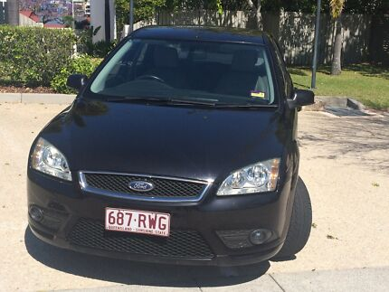 2008 Ford Focus GHIA LT Auto + 6 MONTHS REGO LEATHER INTERIOR  Fortitude Valley Brisbane North East Preview