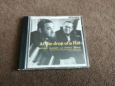 Michael Flanders / Donald Swann  - At The Drop Of A Hat - CD (1991) 1957-60