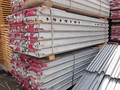 Layher/Assco/Alfix ca. 80m² Gerüst Fassadengerüst Baugerüst Stahlbeläge