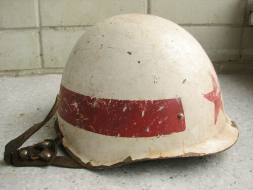 WWII or post war?  MARKED RUSSIAN HELMET100% ORIGINAL.
