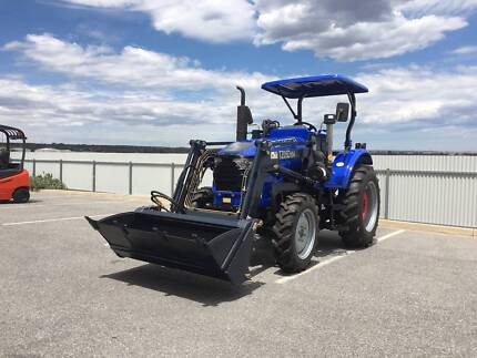 2017 Trident 55HP tractor, 4WD + 4 in 1 Bucket + 5FT Slasher Lonsdale Morphett Vale Area Preview
