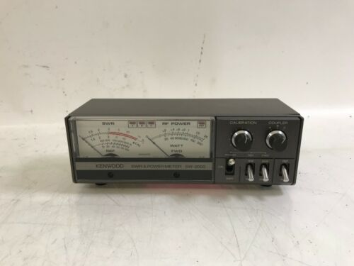 Kenwood SWR & Power Meter SW-2000