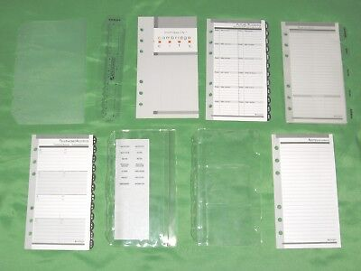 Compact 1 Year Undated Refill Tab Page Lot Day Runner Planner Franklin Covey 160