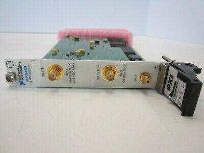 National Instruments Ni Pxi-5621 64 Mss Digitizer Module 14-bit 64mb Oop