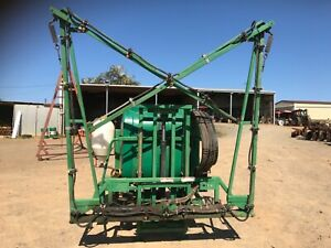 3PL Goldacres 800  litre spray tank with hydraulic folding booms[78] Wamuran Caboolture Area Preview