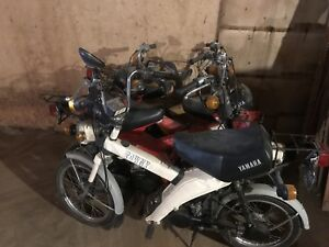 Yamaha Towny Mobilette Scooter Moped 1980 Lot