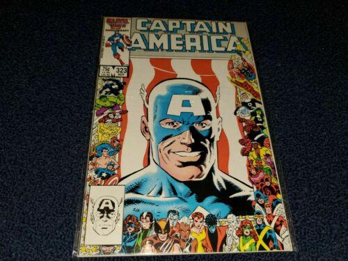 Captain America #323, VF+ 8.5, 1st Appearance John Walker