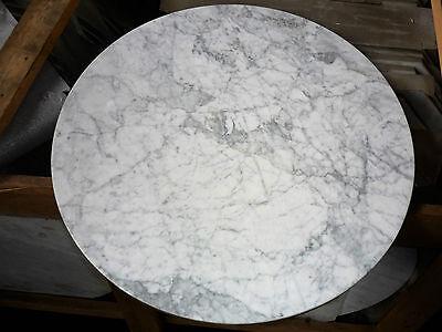 Tischplatte Marmor Bistrotisch Platte Rund 60 cm Sonderposten