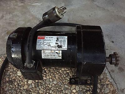 Dayton Ac Gear Motor 4z391