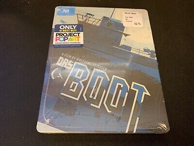 NEW!! DAS BOOT PROJECT POPART LIMITED EDITION TIN CASE BLURAY Best Buy EXCLUSIVE