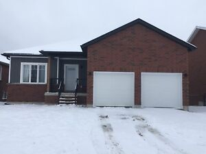 Walk out Bungalow in Elmvale (new home).