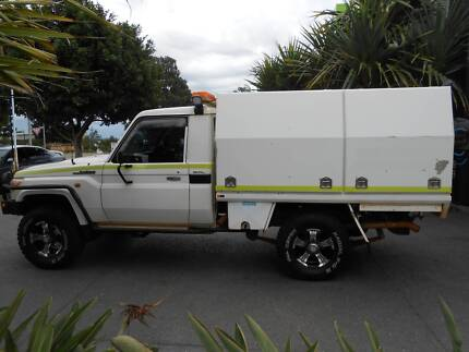 2007 Toyota LandCruiser GXL Ute With Custom Aluminium Work Body Brookwater Ipswich City Preview