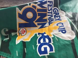 Grey Cup 91 Banner