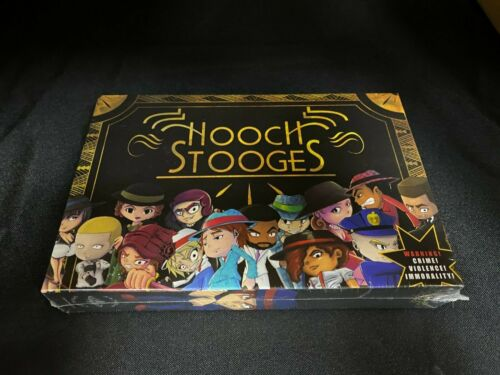 Hooch Stooges Card Board Game by Rainbow Starlight BRAND NEW SEALED